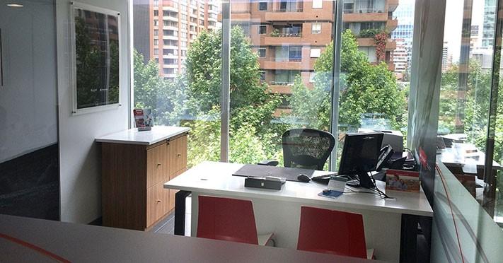 Oficina banco santander edificio las artes tierrainfinita for Oficinas banco santander en gijon
